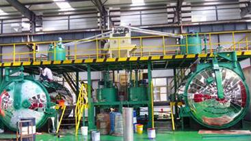 dynamic mixing vacuum casting plant