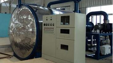 pressure changed vacuum drying plant