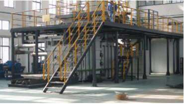 continuous vacuum induction melting furnace