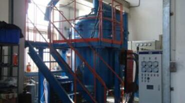 vacuum induction vapor deposition furnace