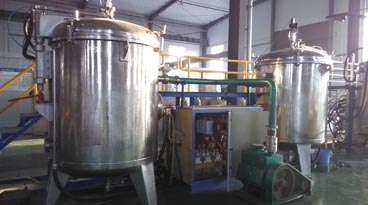 Vacuum graphitization furnace equipment