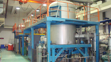 graphite purification thermal equipment