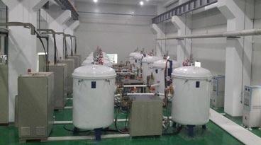 vacuum induction heating graphitization furnace