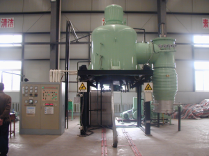 Vertical type vacuum heatreatment furnace