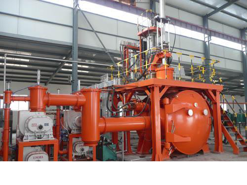 Induction Vacuum Consumable Electrode Skull Furnace