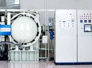 vacuum horizontal induction sintering furnace