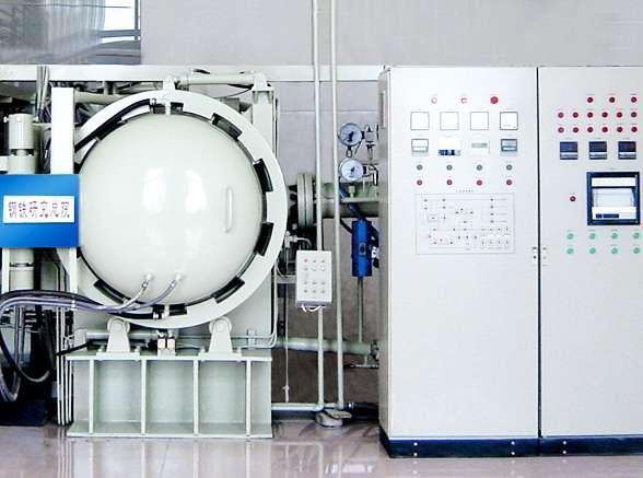 vacuum horizontal induction sintering furnace