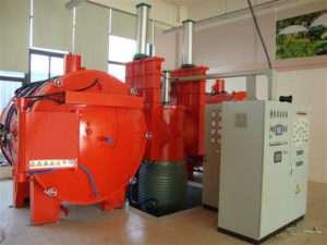 Aluminum vacuum brazing furnace