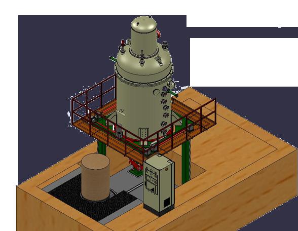 Vacuum continuous brazing furnace