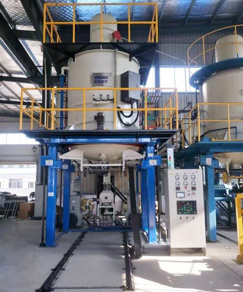High pressure gas quenching vacuum furnace