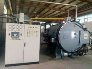 high pressure vacuum gas quenching furnace