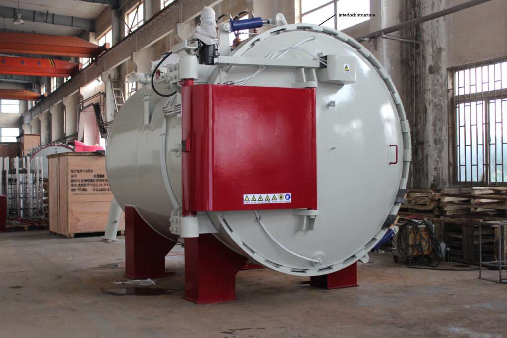 Design of high pressure gas quenching vacuum furnace