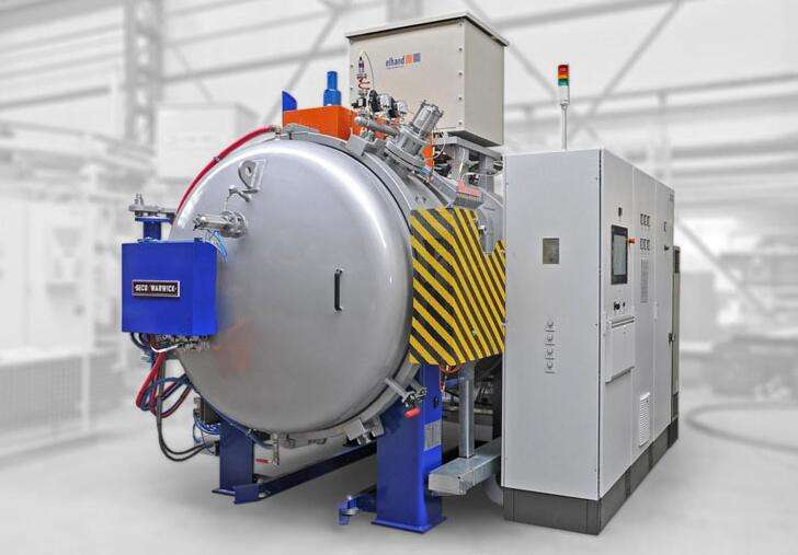 Single chamber vacuum quenching furnace
