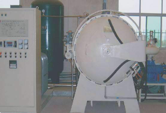 Vacuum induction high temperature graphite furnace