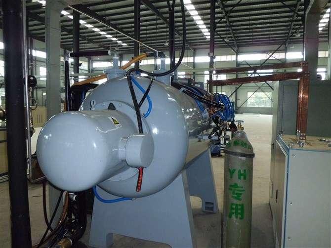 Vacuum annealing furnace working steps