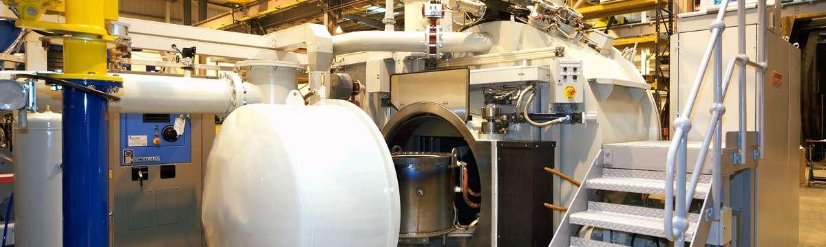 Vacuum casting furnace