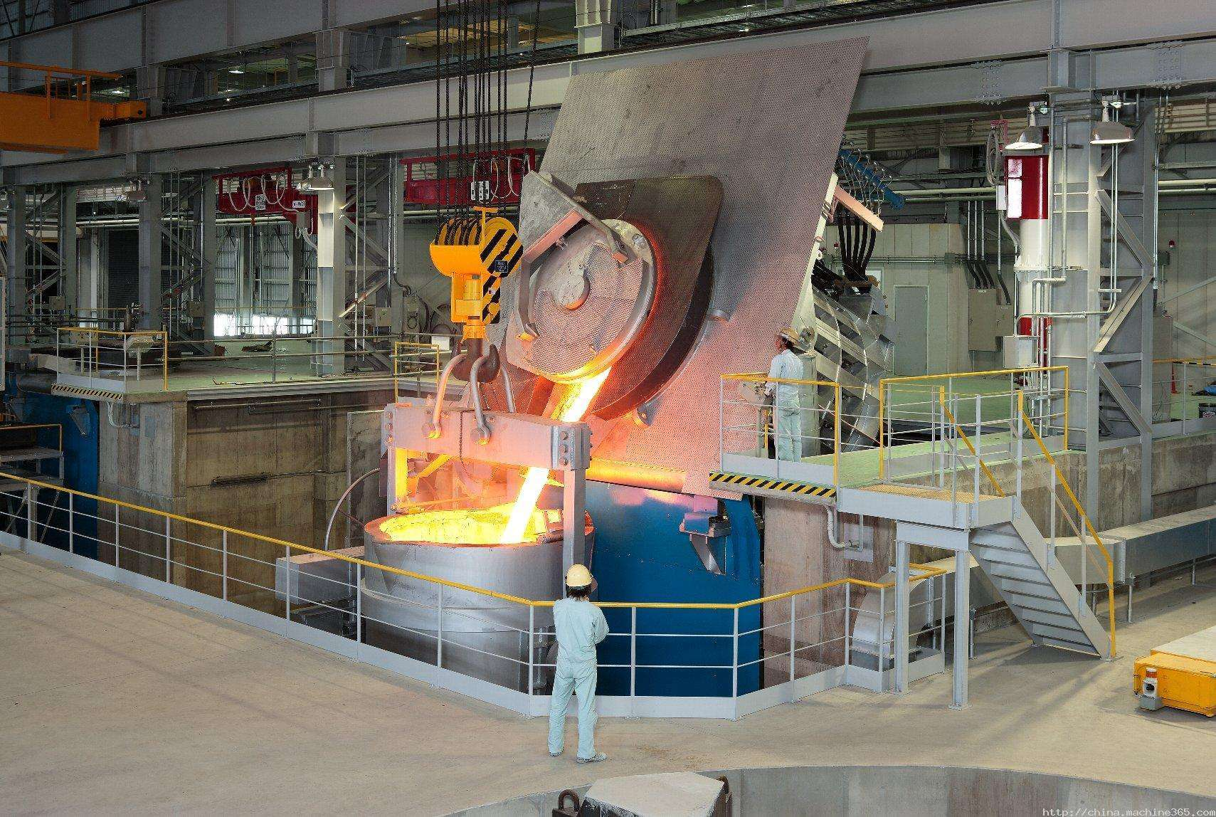 Advanced induction melting furnace