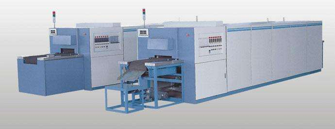 Electronic slurry sintering furnace
