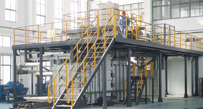Refractory metal smelting furnace