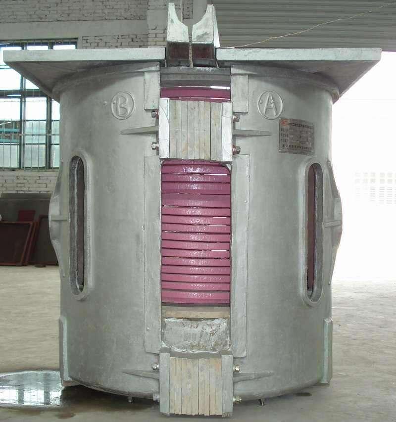 Supply aluminum shell melting furnace