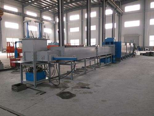 Tunnel type diamond tool sintering furnace