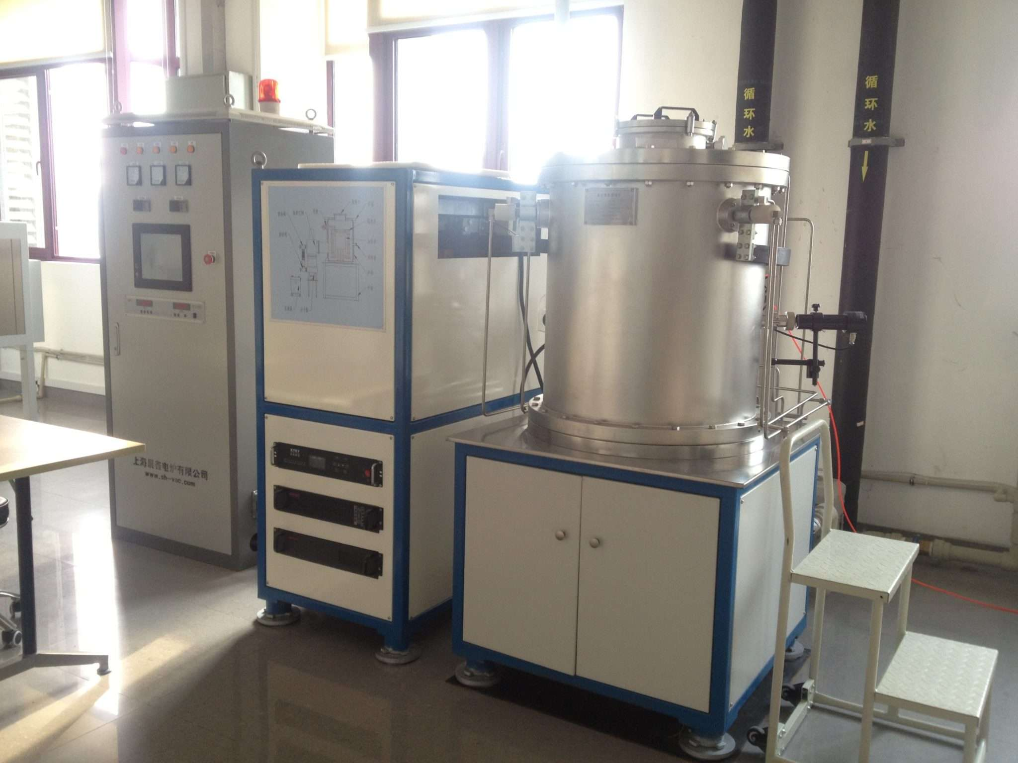 Vacuum tungsten filament sintering furnace