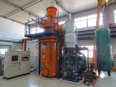 Vacuum water quenching furnace