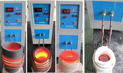 High-frequency electromagnetic induction melting furnace