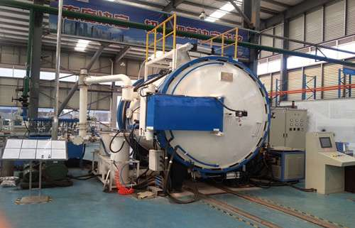 High-temperature vacuum carbonization furnace
