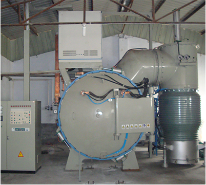Metal filter sintering furnace horizontal