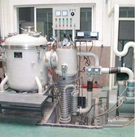 Alloy vacuum melting furnace