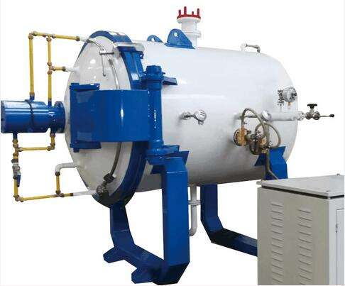 Fast cooling resistance furnace
