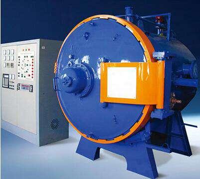 Horizontal vacuum gas quenching furnace