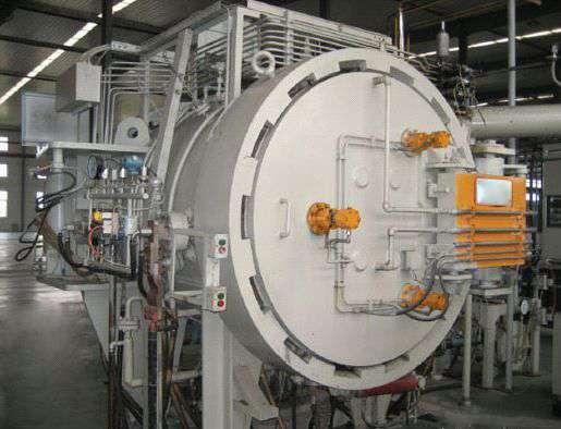Vacuum degumming sintering furnace