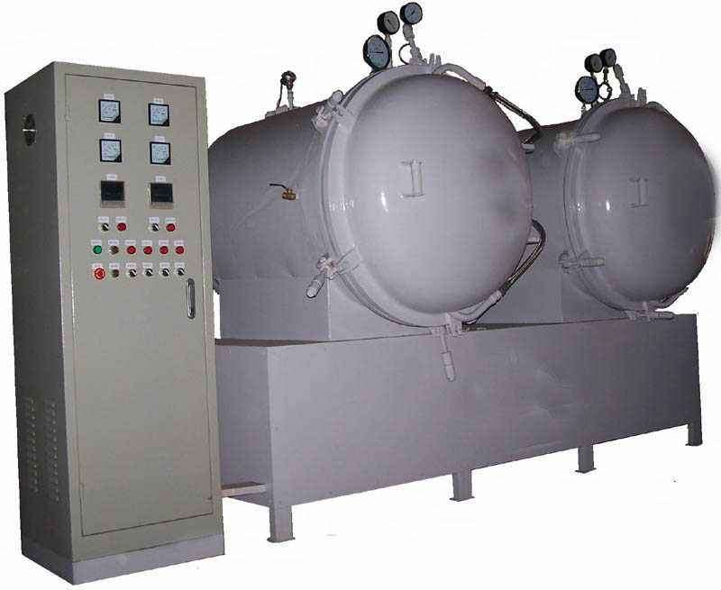 Vacuum drying furnace