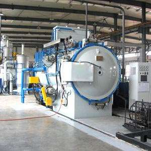 Horizontal double room vacuum air quenching oil quenching furnace