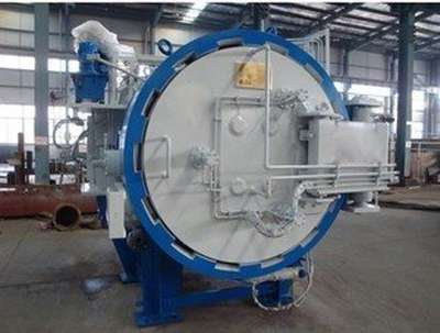 Vacuum pressure fast cooling sintering furnace