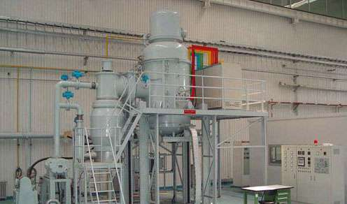 Vertical annealing vacuum furnace