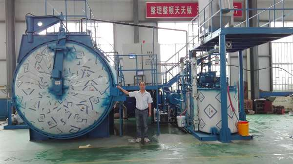 Static Mixing Vacuum Casting Plant