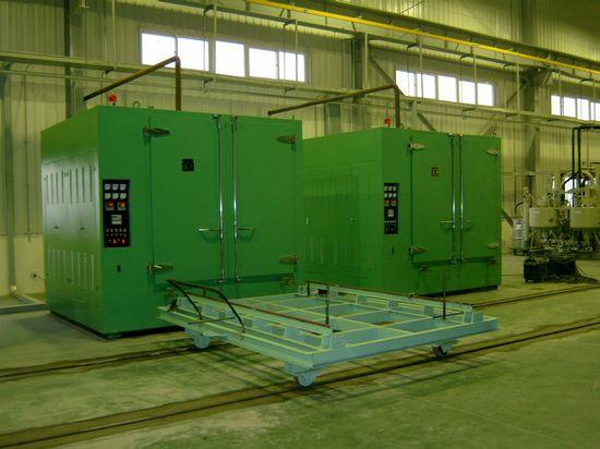 Hot Air Circulation Vacuum Drying Plant