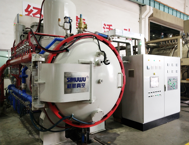 vertical gas quenching furnace