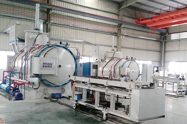 Horizontal Type Double Chamber Air Cooling Vacuum Oil Quenching Furnace