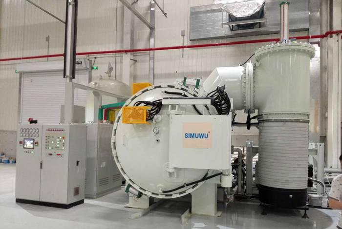 horizontal vacuum sintering furnace