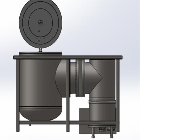 Vertical Vacuum Sintering Furnace