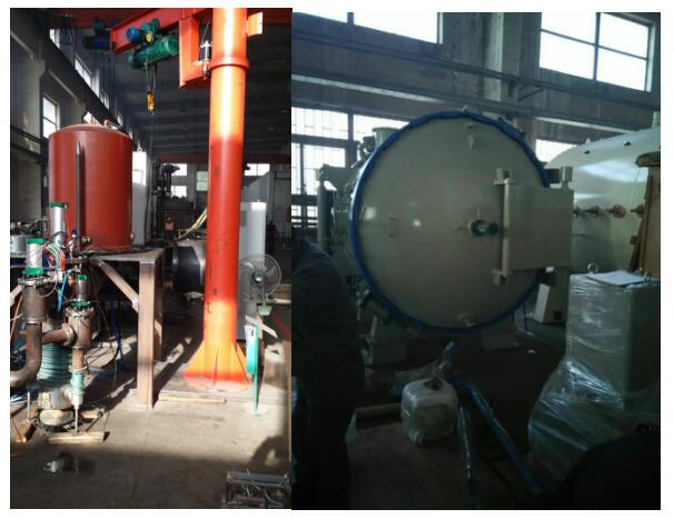 Silicon carbide vacuum sintering furnace RVS‐8812