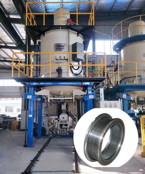 Pellet Machine Accessories Ring Die Feed vacuum heat treatment furnace
