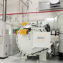 Vacuum furnace range up to 3000°C