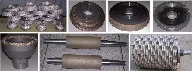 Grinding wheel tool