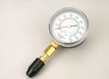 Compressed vacuum gauge