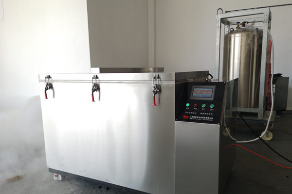 liquid nitrogen cryogenic box